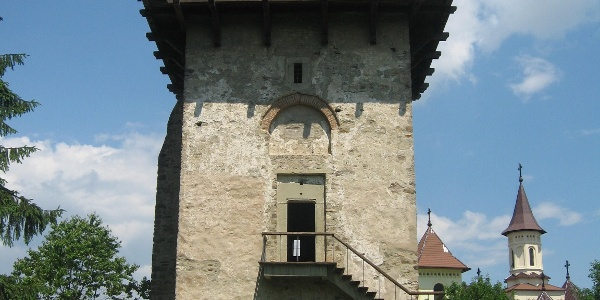 The tower built during the reign of Vasile Lupu (1641)