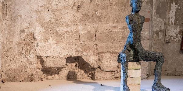 Kunst und Sandstein gehören beim Skulpturensommer Pirna zusammen.