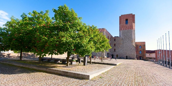 Kulturschloss Großenhain mit Aussichtsturm Bergfried