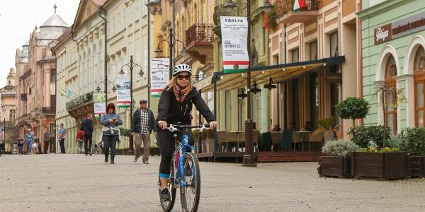 Kaposvár belvárosa