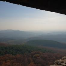 Kilátás Salgó várából