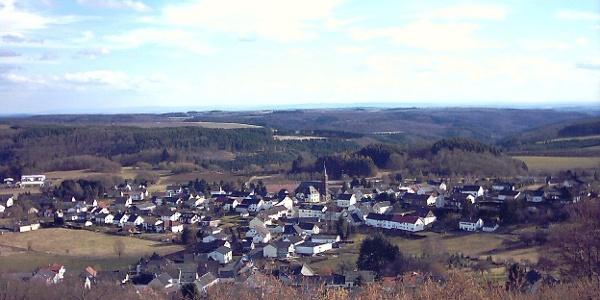 Blick auf Üdersdorf
