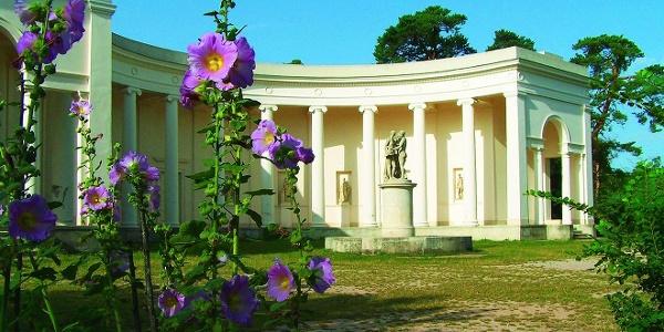 Chrám Tří Grácií v Lednicko-valtickém areálu