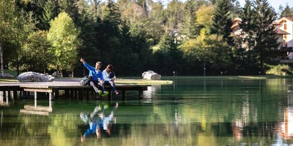 Lago di Nembia, che pace
