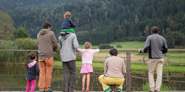 Con tutta la famiglia all'area archeologa di Fiavé
