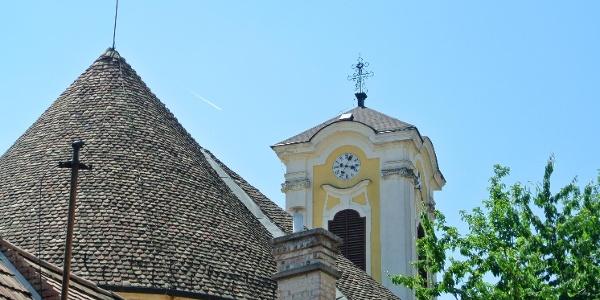 A szentendrei Péter-Pál-templom tornya