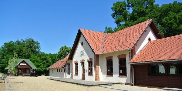 A Széchenyi Múzeumvasút nagycenki épülete