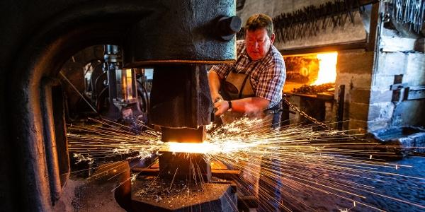 Historischer Eisenhammer Eckersmühlen