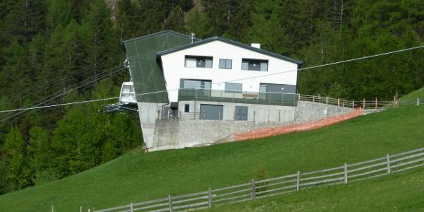 Bergstation der Seilbahn Aschbach