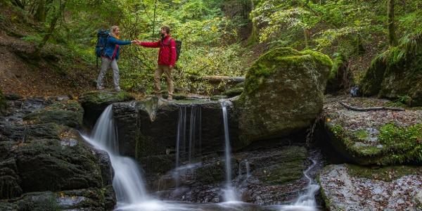 Ehrbachklamm - Wasserfall