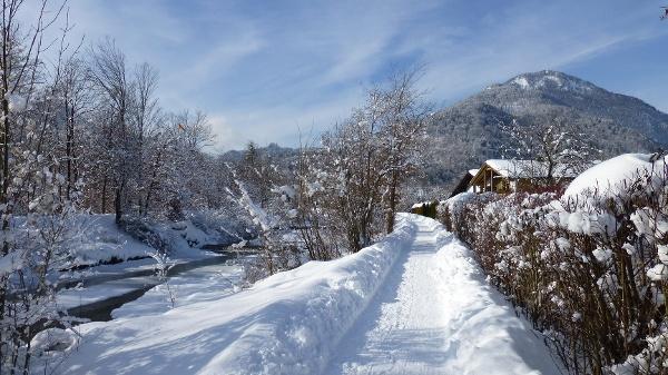 Winterwandern am Auerbach