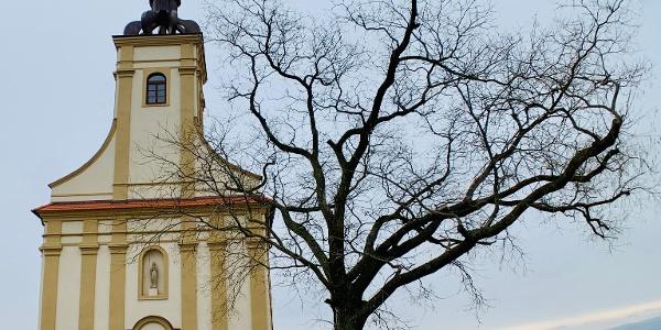 Kaple na Starém hradě v Bzenci