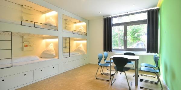 Economy-Zimmer im Hostel im Grünen Haus