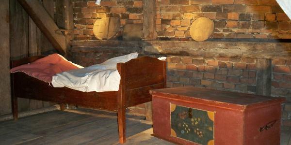 Schlafstube im Historischem Handwerkshaus