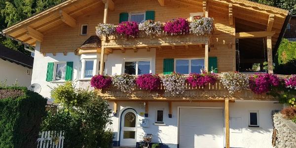 Haus Panoramablick Bartholomäberg Sommer