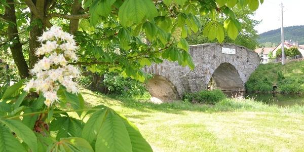 Böhmische Brücke von 1724 vor Mönchswalde