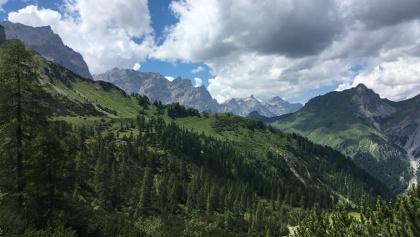 Blick ins Karwendel. (Etappe 1)