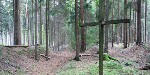 Pilgerkreuz am Heiligen Weg