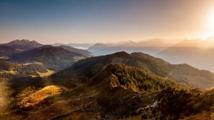 Herbstpanorama in der UNESCO Biosphaere Entlebuch