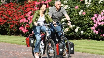 Radfahrer im Ammerland