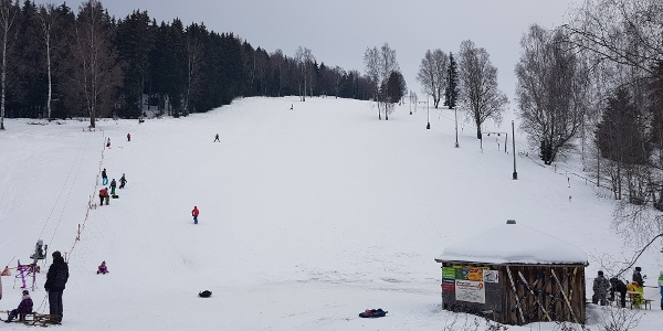 Rodelhang am Skilift Jägerstraße