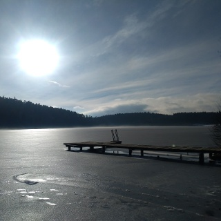 Degersee im Winter