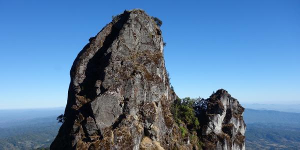 Südlicher Abbruch des Pha Ngaem, welcher umgangen wird