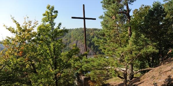 Das Eiserne Kreuz in Freital Hainsberg