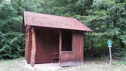 Schutzhütte Pferdestall