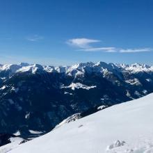 Gipfelblick zum Kreuzeck