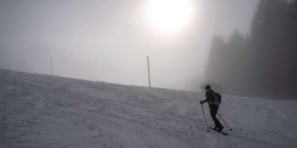 Schneeschuhwandern am Grünten