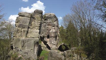 Skaly - Zřícenina hradu Skály (Bischofstein)