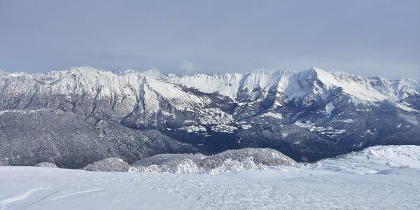Mt. Krasji vrh, Mt. Krnčica and Mt. Krn