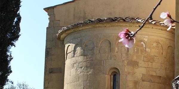 Abside Chiesa di San Martin del Colle