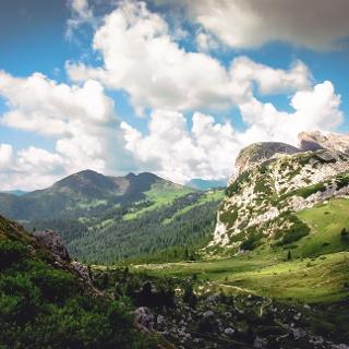 Passo Valparola, the start of your walk