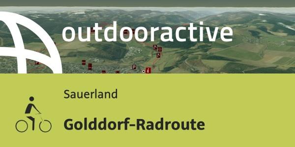Radtour im Sauerland: Golddorf-Radroute