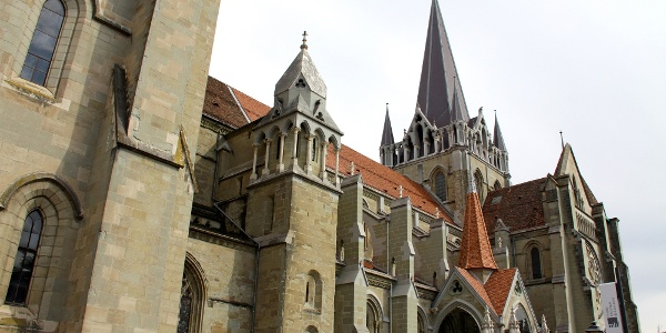 Kathedrale Notre-Dame in Lausanne.