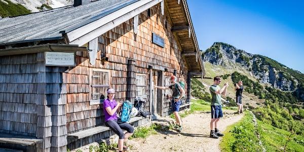 Die Scheibenkaser Alm am Untersberg