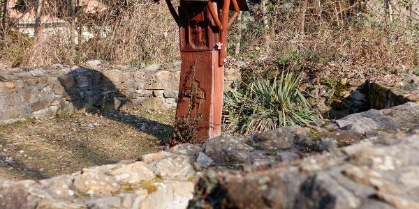 Remete Szent Pál emlékoszkopa a budaszentlőrinci pálos kolostornál