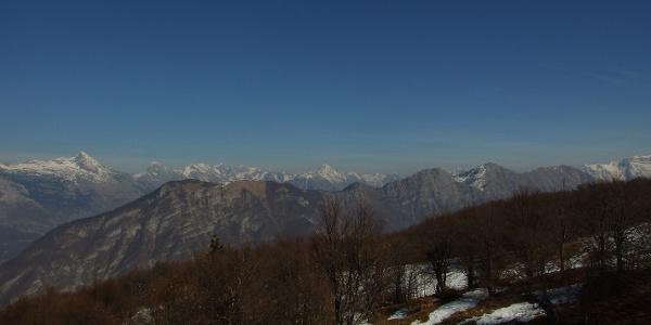 Above the Božca Mountain pasture
