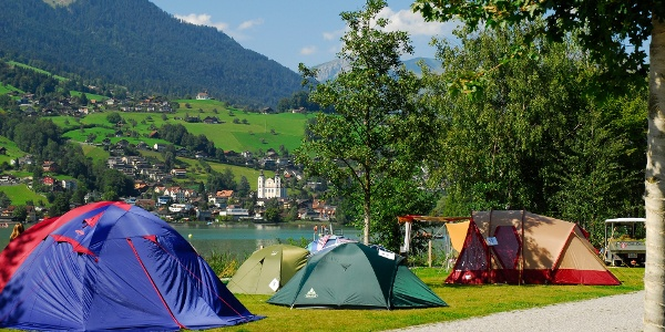 Zeltwiese Camping Seefeld Park