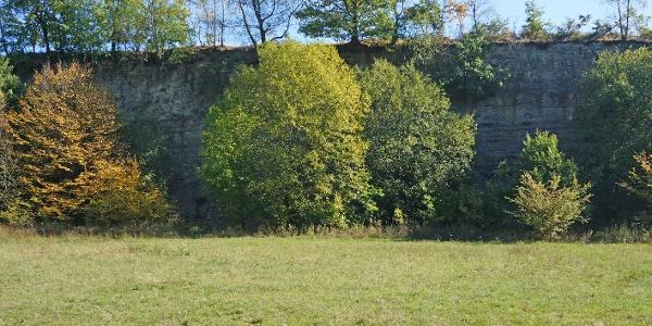 Geologischer Ort / Steilwand