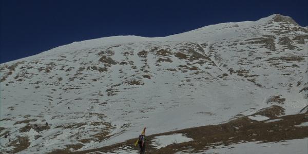 Po kopnem do prve zaplate snega