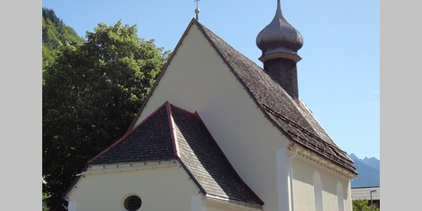 Heilig Kreuz Kirche in Dalaas