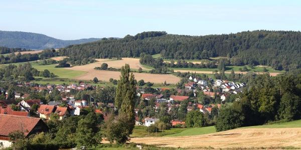 Blick Richtung Nellenburg