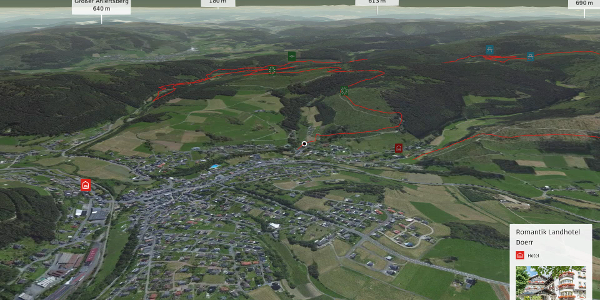 Wanderung in Bad Laasphe: Rothaarsteig-Spur Ilsetalpfad