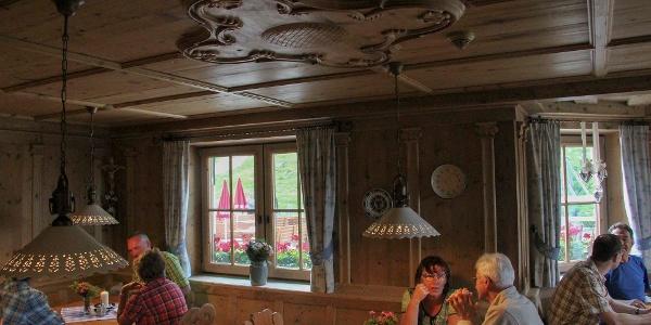 Tiroler Stube in der Dresdner Hütte