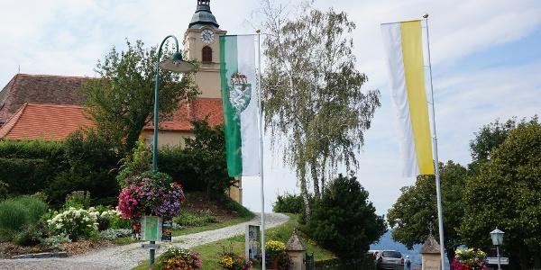 Jahreszeitengarten und Wallfahrtskirche