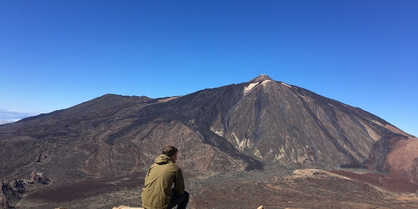 Views from the summit of Guajara.