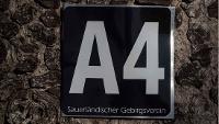 Wanderzeichen A4